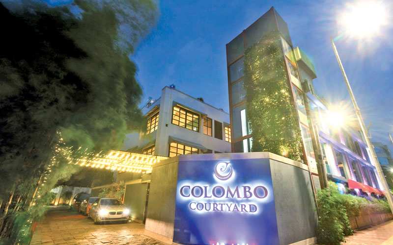 Colombo courtyard rated 4 5 stars on tripadvisor daily news for Top rated boutique hotels