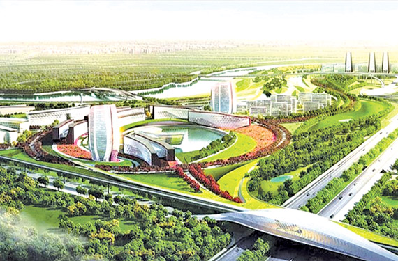 A proposed Megapolis for Sri Lanka