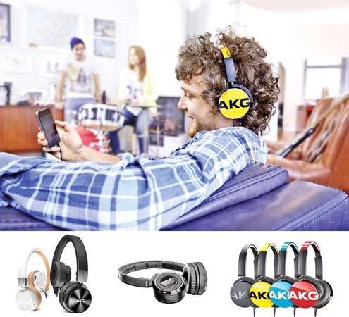 AKG headphones at Abans Apple istores islandwide | Daily News