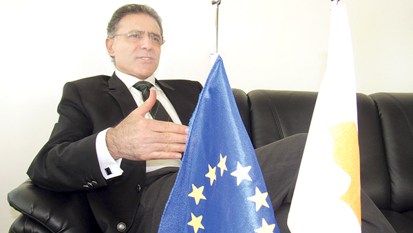 High Commissioner Theophylactou. Pic by Shirajiv Sirimane