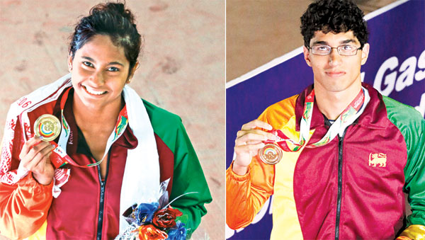 Mathew clinches 4th gold as SL remains second in medals tally at SAG