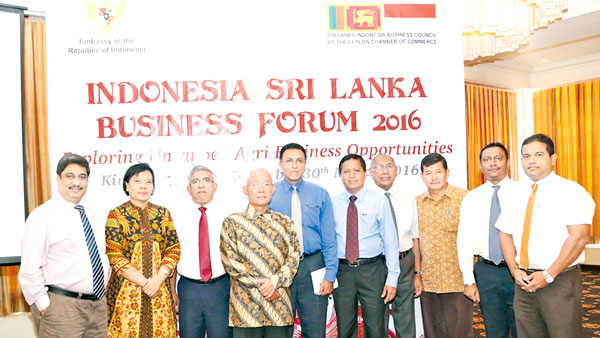 Members of the Sri Lanka – Indonesia Business Council with the Indonesia Ambassador in Sri Lanka.