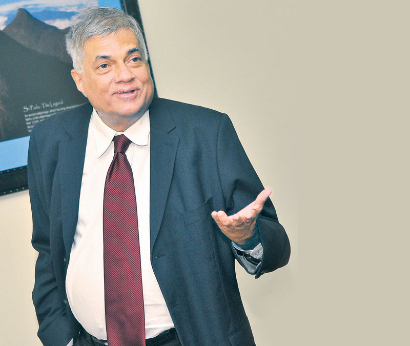 Prime Minister Ranil Wickremesinghe Picture by Rukmal Gamage