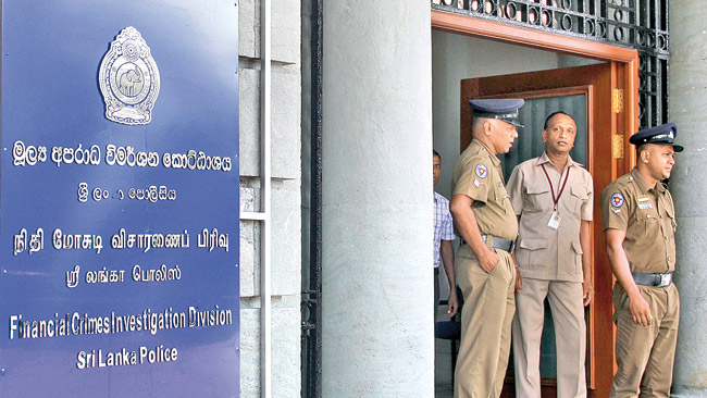 The FCID in Colombo. Picture by Mahinda Vithanachchi