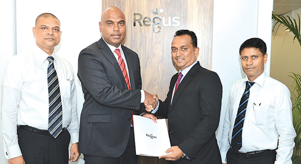 Regus in strategic tie up with SLIM | Daily News