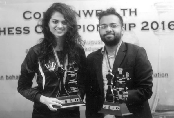 Abhijeet Gupta and Tania Sachdev from India the overall champions