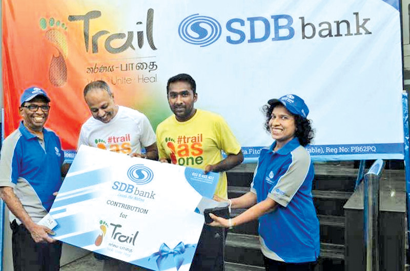 Sdb bank a sponsor for trail 2016 daily news for Sdb business
