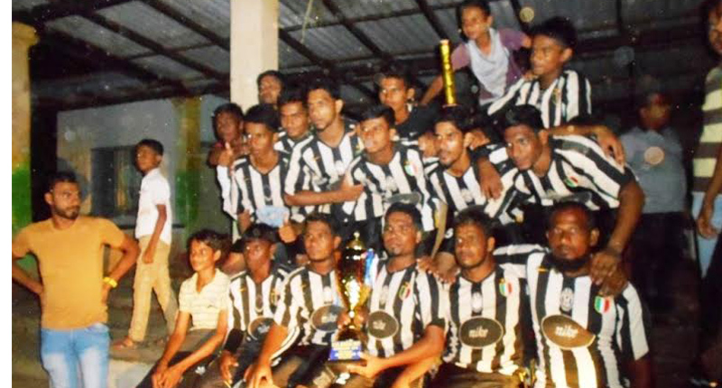 The champion Saunders Sports Club, Kattankudy team