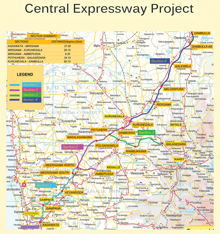 Central Expressway second phase construction begins today