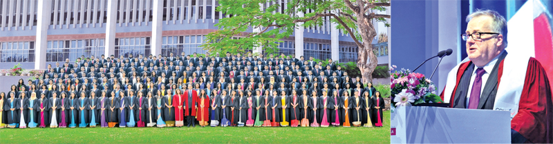 The CIMA convocants at the BMICH.