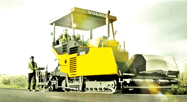 Volvo construction equipment marketed  by DAX