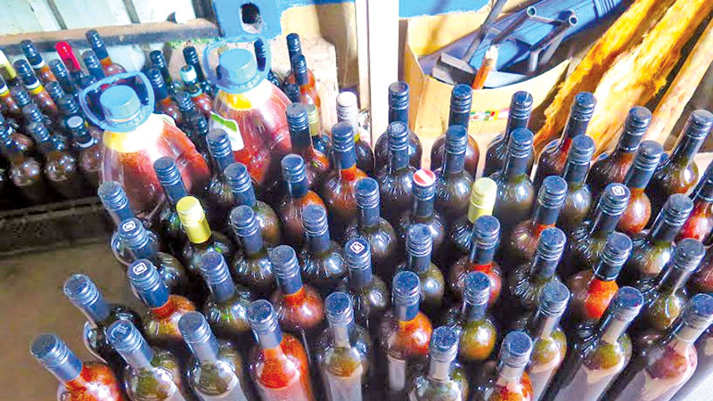 Bottling plant at Jetwing Beach