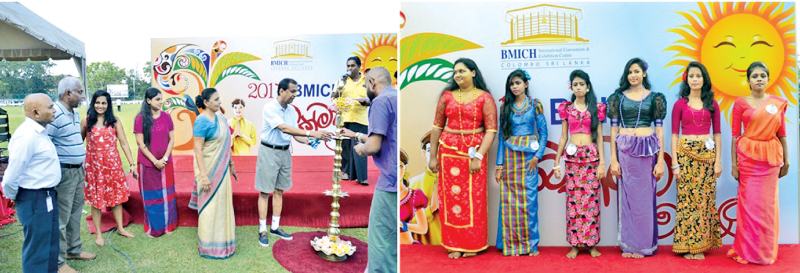 BMICH employees and their families at the Bakmaha Ulela.