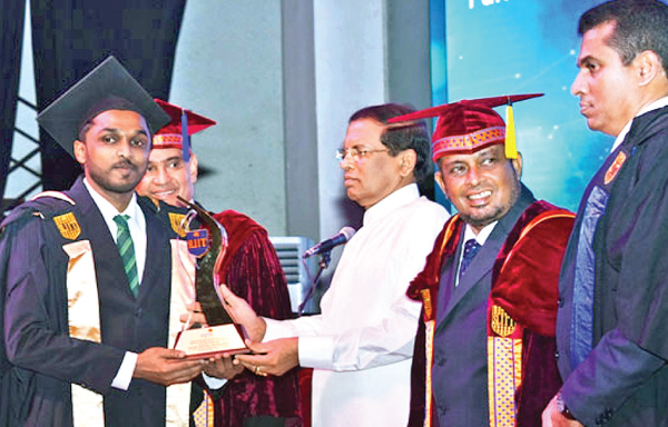 Epic Excellence Award At Sliit Convocation For Eighth Year
