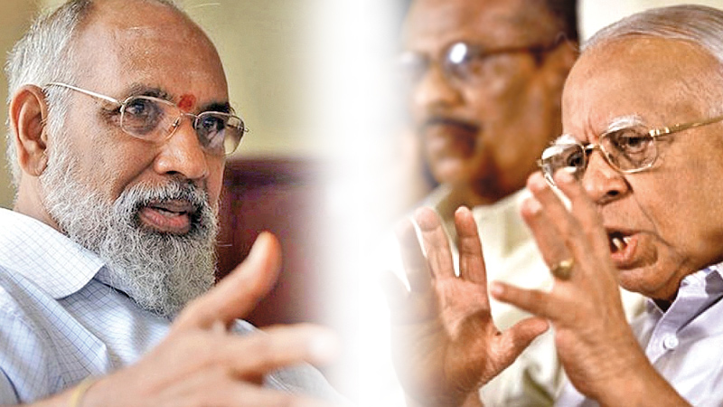 C.V. Wigneswaran and R.Sampanthan