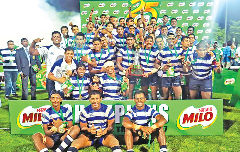 Titans of school rugby celebrate victory | Daily News