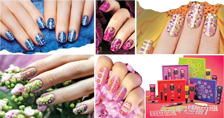 Ceylonese floral nail art from Spa Ceylon | Daily News