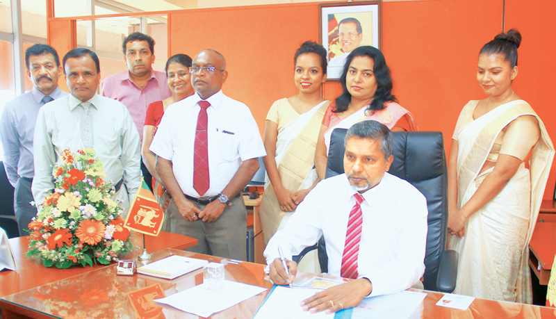New Inland Revenue Commissioner assumes duties | Daily News