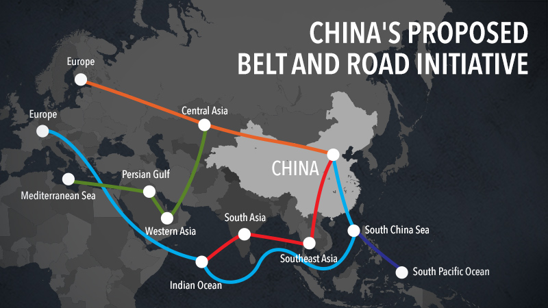 China belt and road initiative countries