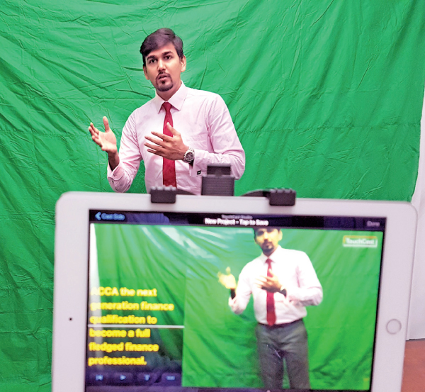 ICBS - first institute in the country to use Touchcast video