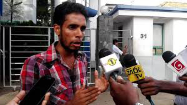 Medical Faculty Students' Action Committee Convener Ryan Jayalath arrested