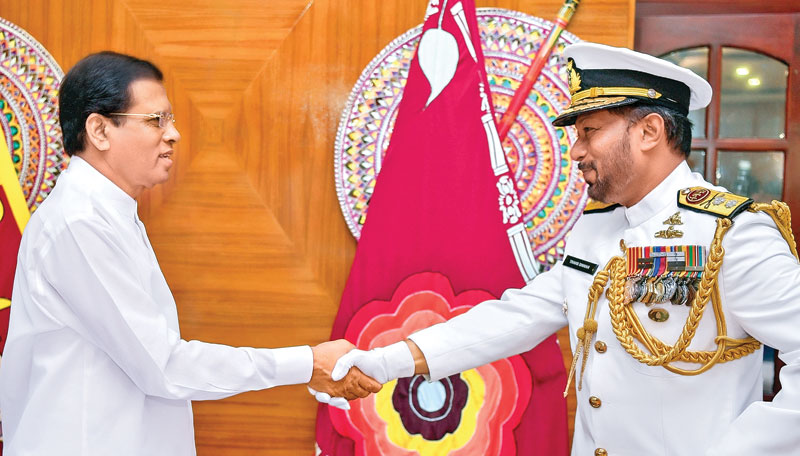 New Navy Commander received his letter of appointment