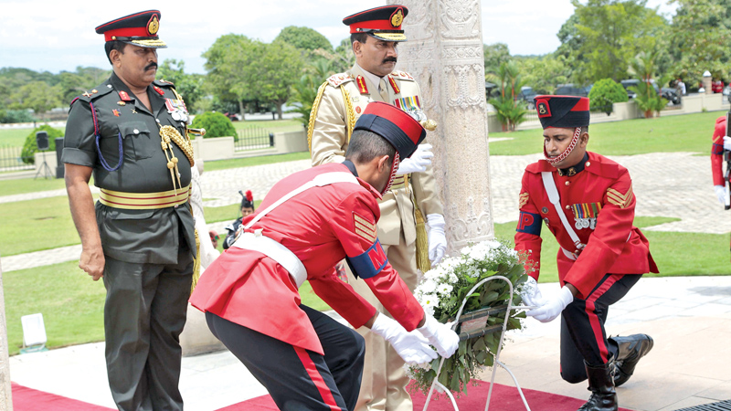 Chief of Defence Staff tribute to War Heroes Memorial