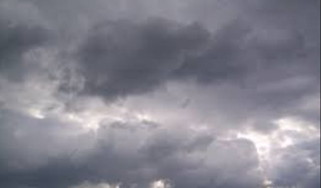 Cloudy skies and showers expected