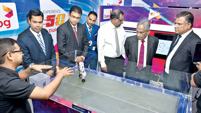 Dialog trials 5G, a first in South Asia