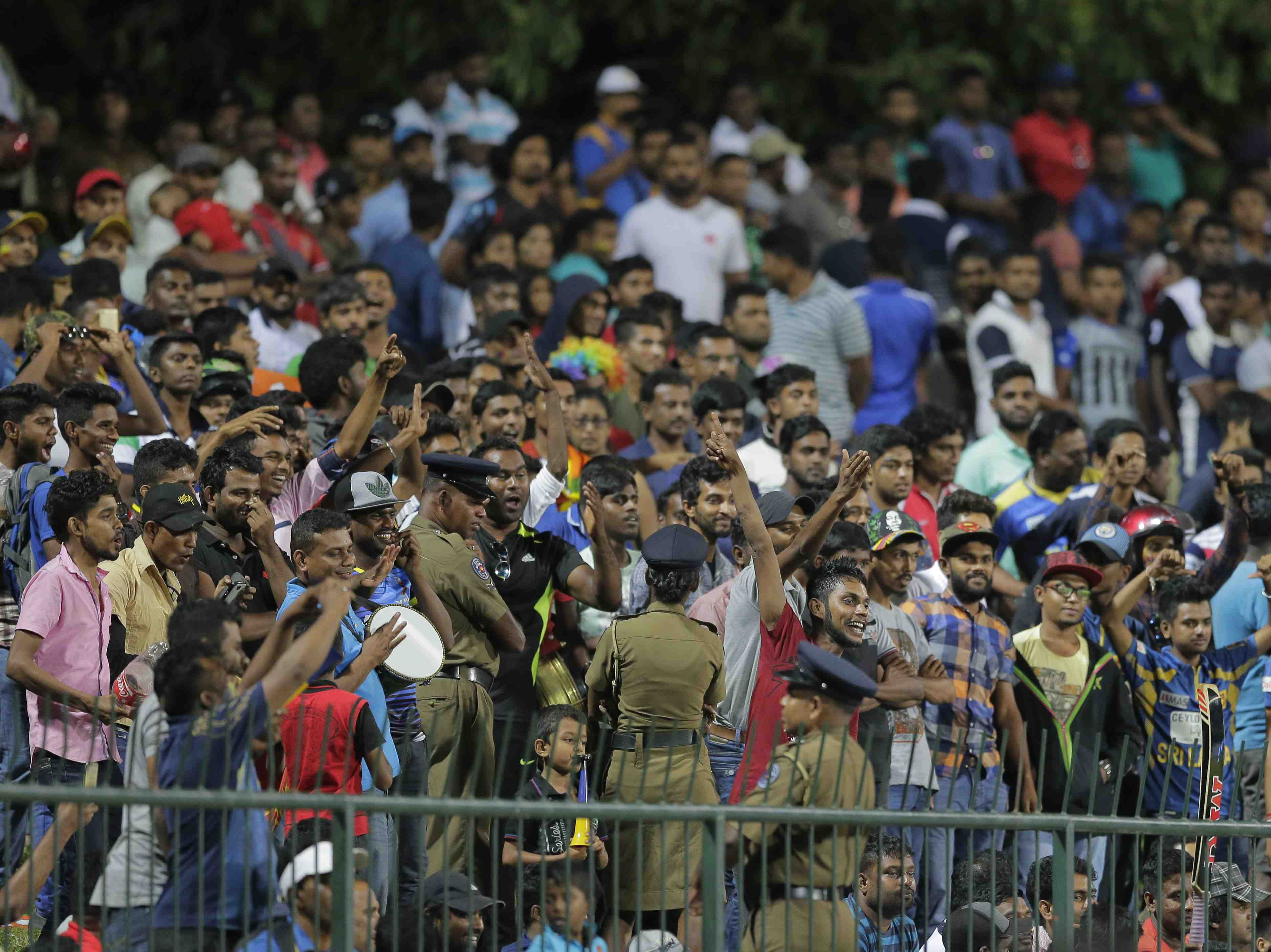 Special security arrangements for SL vs. India 4th ODI