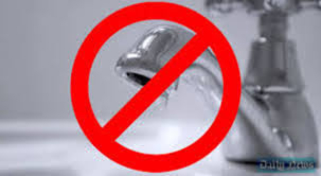 Water supply disrupted in several areas