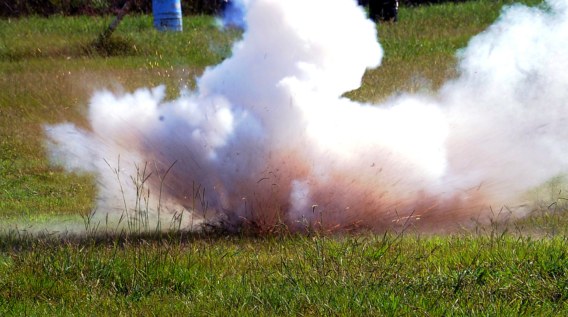 Grenade explosion at Trincomalee Air Force firing range
