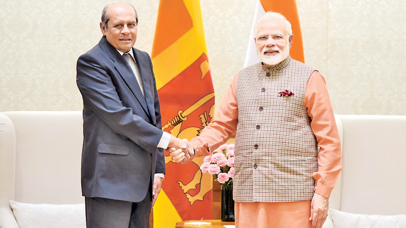 Indian Premier affirms strong bilateral relationship with Sri Lanka