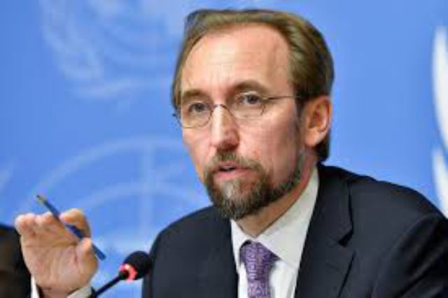 'Operationalize Office of Missing Persons, replace PTA, fast track release of lands held by military ': Zeid