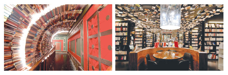 The Last Bookstore, LA-Cook and Book, Brussels