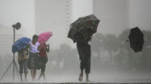Showers to enhance over the next two days: More strong winds expected