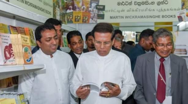 President inaugurates Colombo International Book Fair 2017