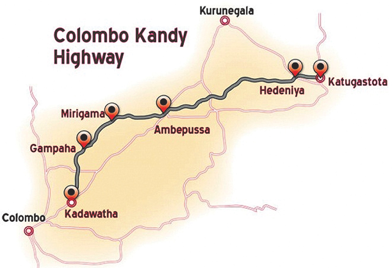 Kandy highway to be complete by 2020 - PM