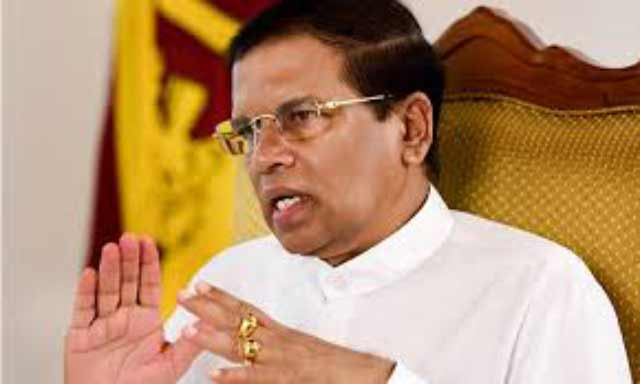 President Sirisena conveys condolences to people afflicted by earthquake in Mexico