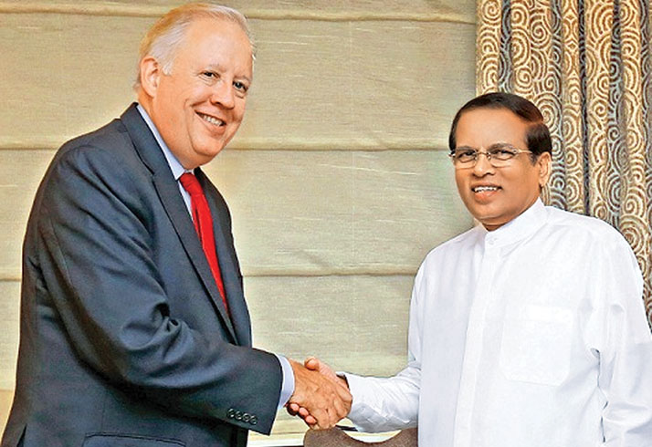 President meets US Under Secretary for Political Affairs