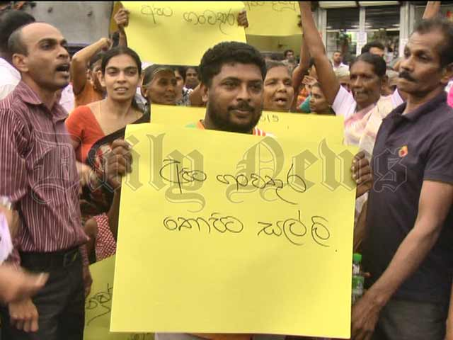 Tense situation at Kurnegala over Central Expressway project