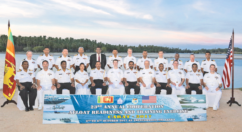 First-ever US, Sri Lankan Navy CARAT exercise