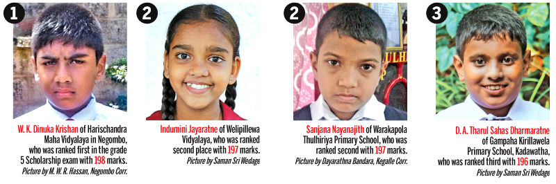 Grade 5 Scholarship Examination results released