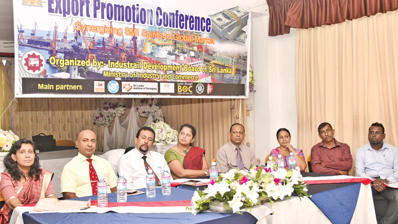 "ndustrial Development Board, Moratuwa conducted a special session on ""Export Promotion"" in Matara"