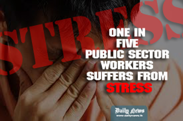 One in five public sector workers suffers from stress: Health Minister