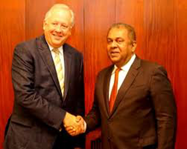 Finance Minister meets US Under Secretary for Political Affairs in Washington