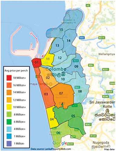Land prices in Colombo keep rising remain best investment option