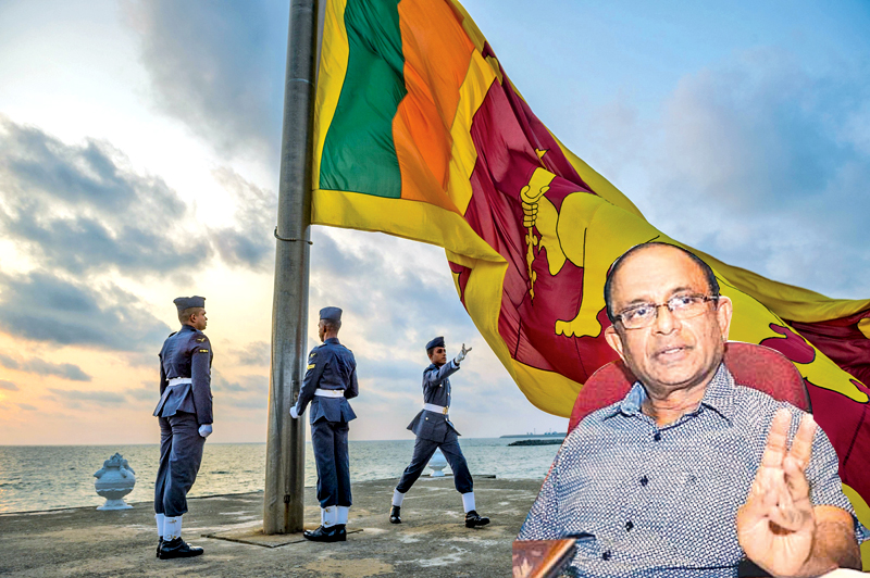 Constitutional Lawyer and MP Dr Jayampathy Wickramaratne.