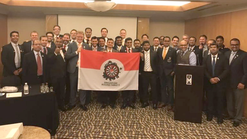 Sri Lanka Round Table 3 Extends First, Round Table Organization