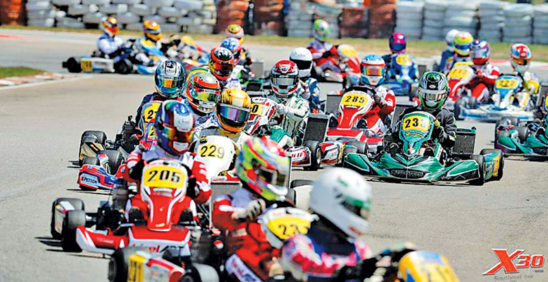 kart sri lanka Sri Lanka to experience its first ever X30 Asia Cup challenge